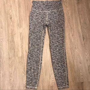 Gray marbled leggings